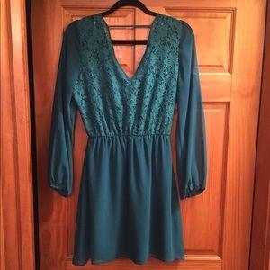 Francesca's Collections Dresses - Francesca's Teal Dress